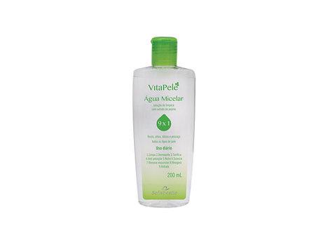 Vita Pele Água Micelar 9x1 Solução de limpeza 200 ml