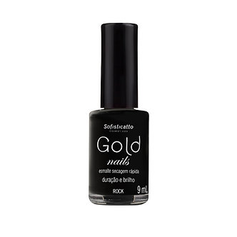 Esmalte Gold Nails Rock 9 mL