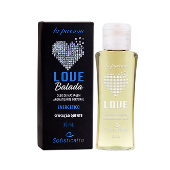 Óleos De Massagem Love Balada 35 mL