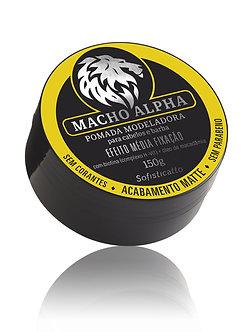 Pomada Macho Alpha Matte 150 g