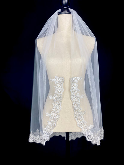 Superb Lace Veil