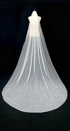 Graceful Cathedral Tulle Veil