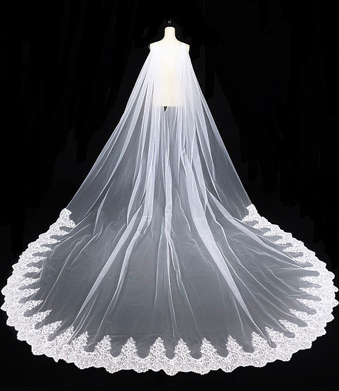 Perfect Cathedral Lace Cape