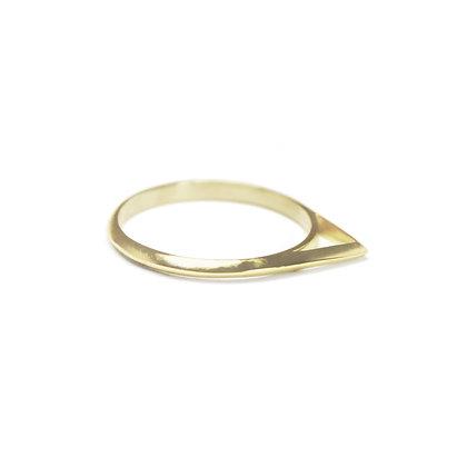 Narrow Knife Edge Apex Ring