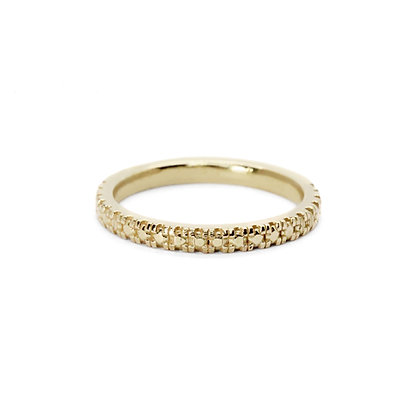 Salvaged Pave Band