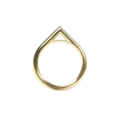 Rounded Apex Ring