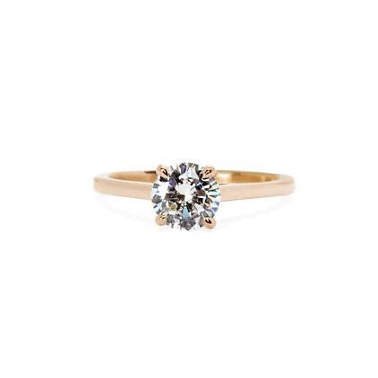 Classic Apex Engagement Ring