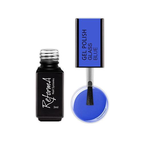 Gel Polish Glass- Blue, 3ml