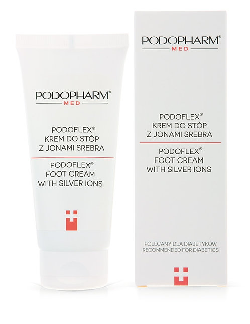 PODOFLEX® Foot cream with silver ions 75ml