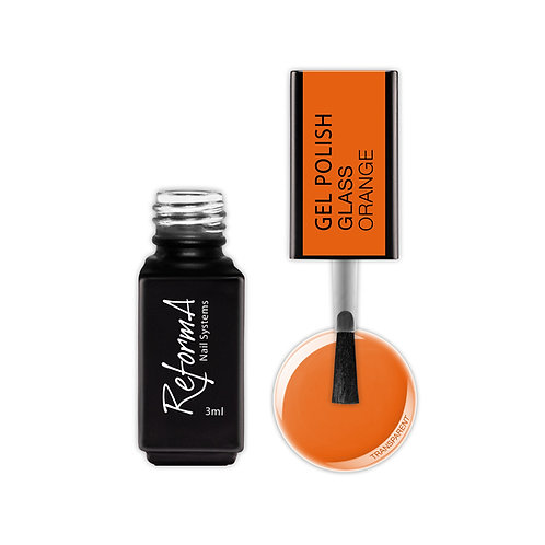 Gel Polish Glass- Orange, 3ml