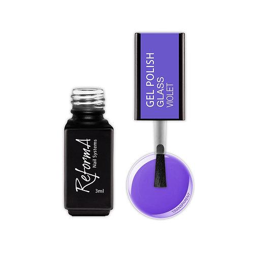 Gel Polish Glass- Violet, 3ml