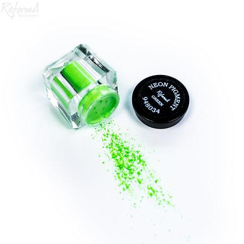 Neon Pigment- Green