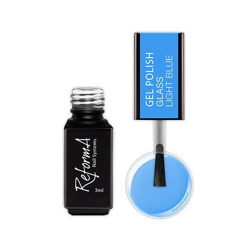 Gel Polish Glass- Light Blue, 3ml