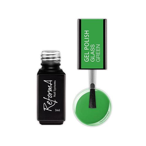 Gel Polish Glass- Green, 3ml