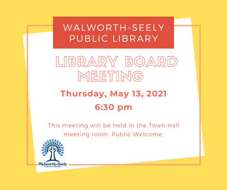 Walworth-Seely Public Library Special Me