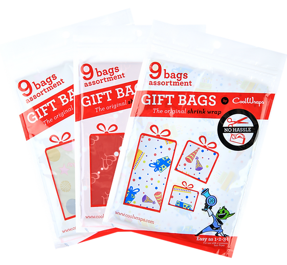 Coolwraps pack of 9 bags