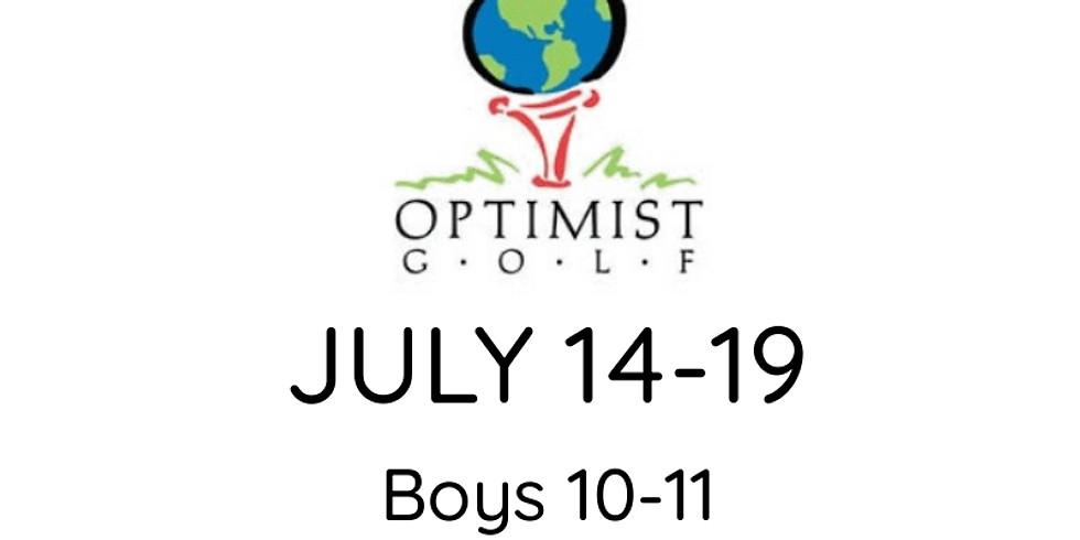 2021 OPTIMIST Jr. Golf Championship July 14-19 (B 10-11, 12-13 & G 10-12)