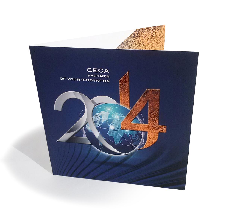 Carte de vœux / CECA