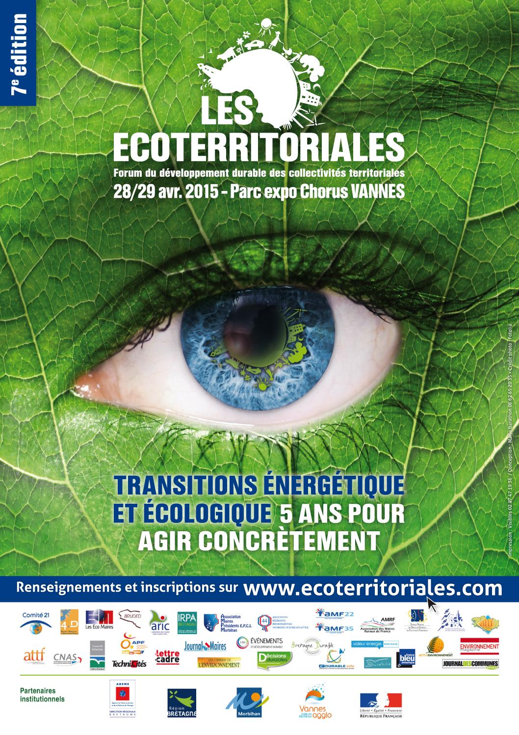 Affiche / Ecoterritoriales