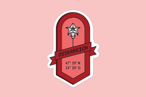 Sticker Österreich