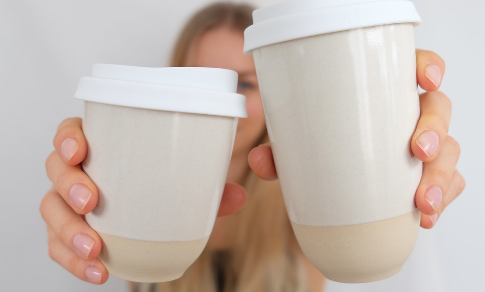 Coffee to Go Becher – Yang groß