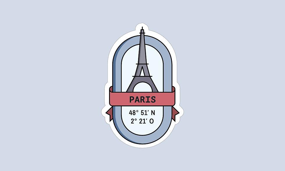 Sticker – Paris