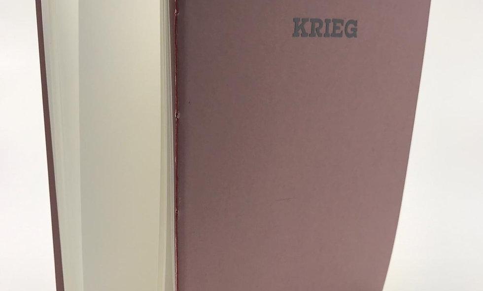 Notizheft Zwillingsbroschur – Krieg & Frieden
