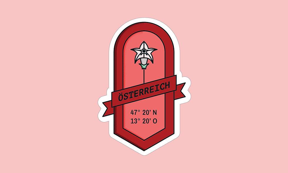 Sticker – Österreich