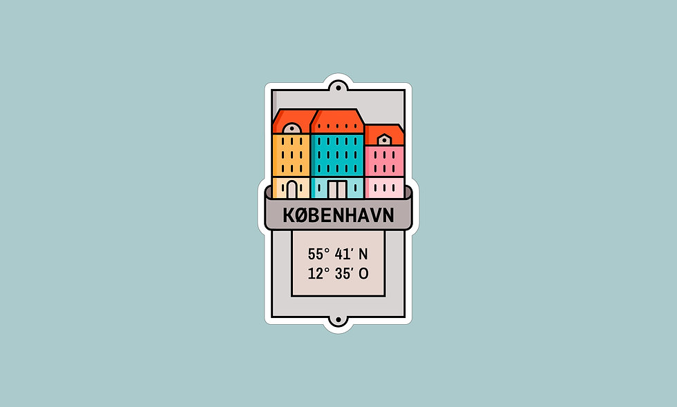 Sticker – Kopenhagen