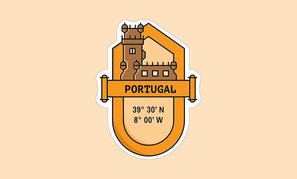 Sticker – Portugal
