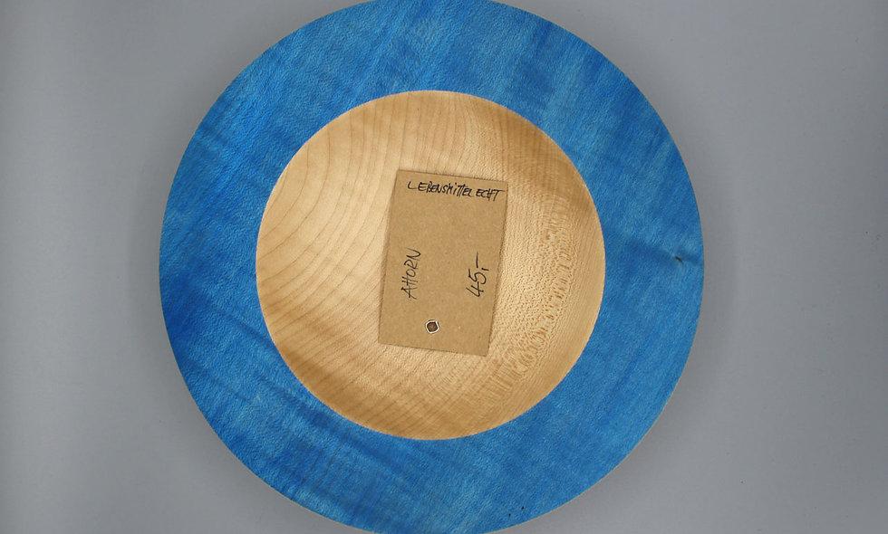 Ahorn Schale – blau