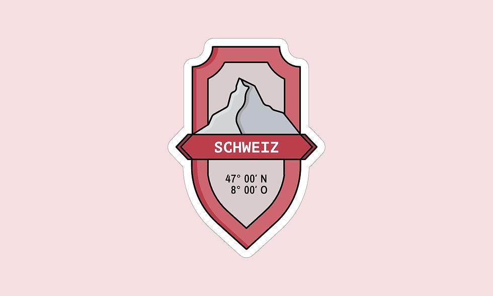 Sticker – Schweiz