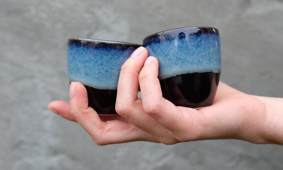 Espresso Tasse – Blue Flow
