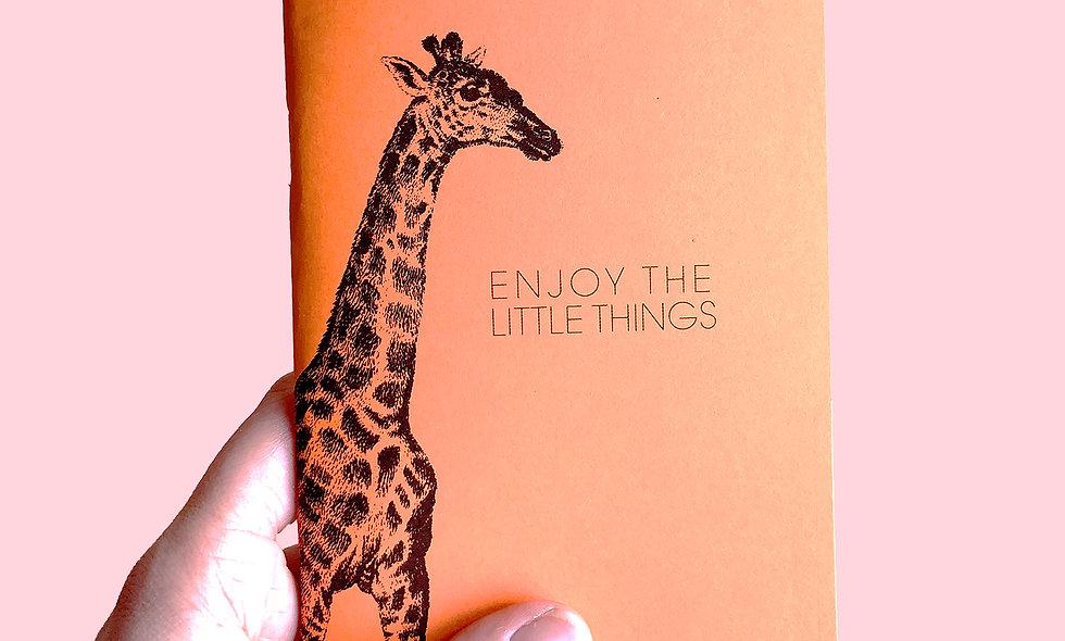 Notizheft – Giraffe
