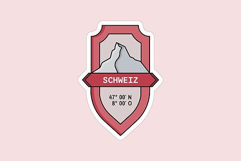 Sticker Schweiz