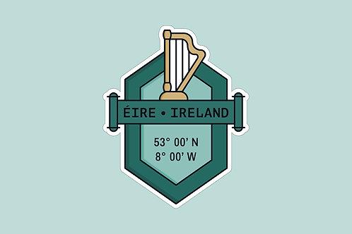 Sticker Irland