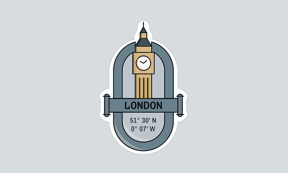 Sticker – London