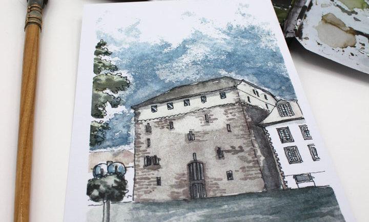 Postkarte – Heimsheimer Schloss