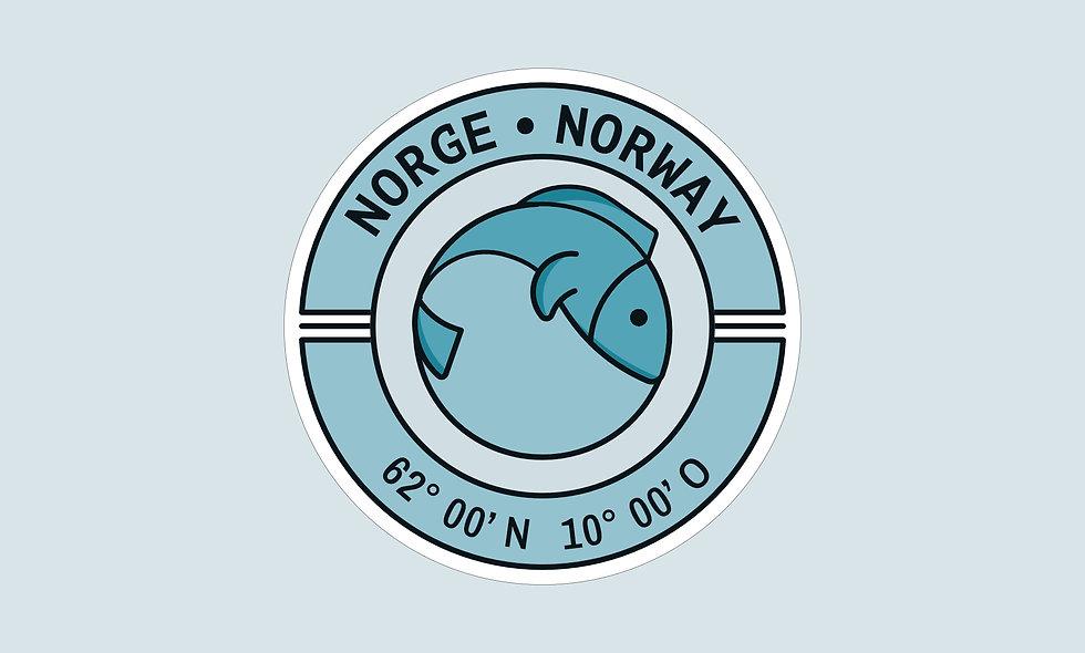 Sticker – Norwegen