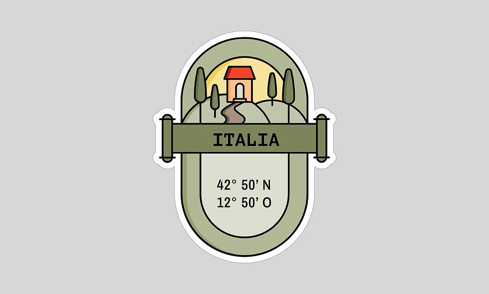 Sticker – Italien