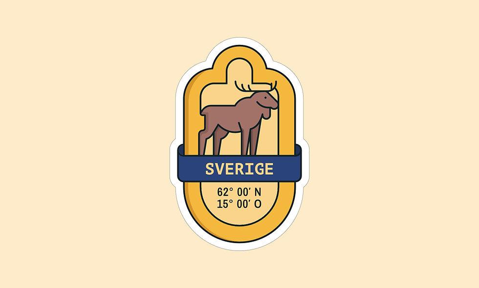 Sticker – Schweden