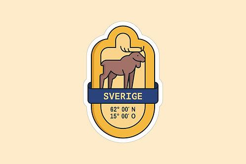 Sticker Schweden