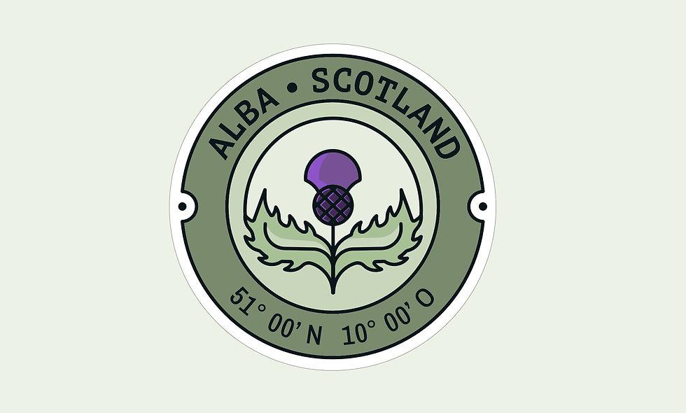 Sticker – Schottland