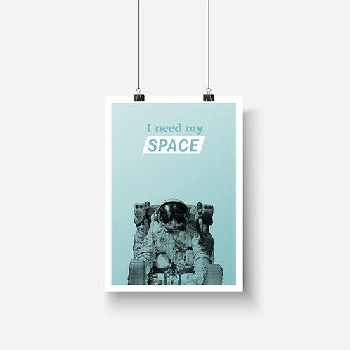 Poster – Astronaut