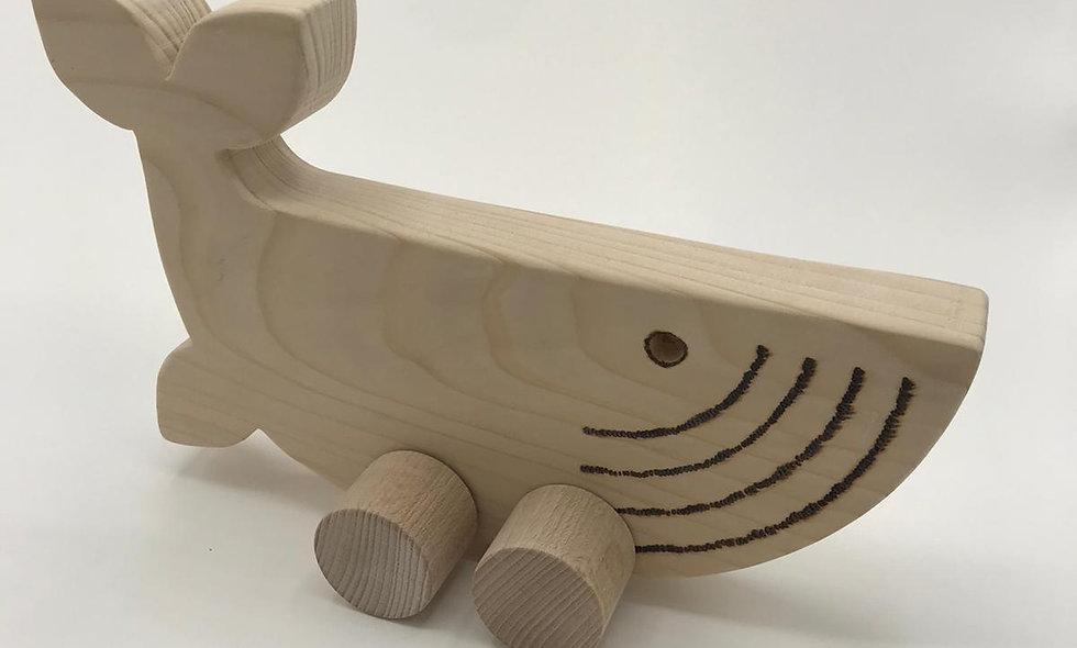 Holzspielzeug – Wal