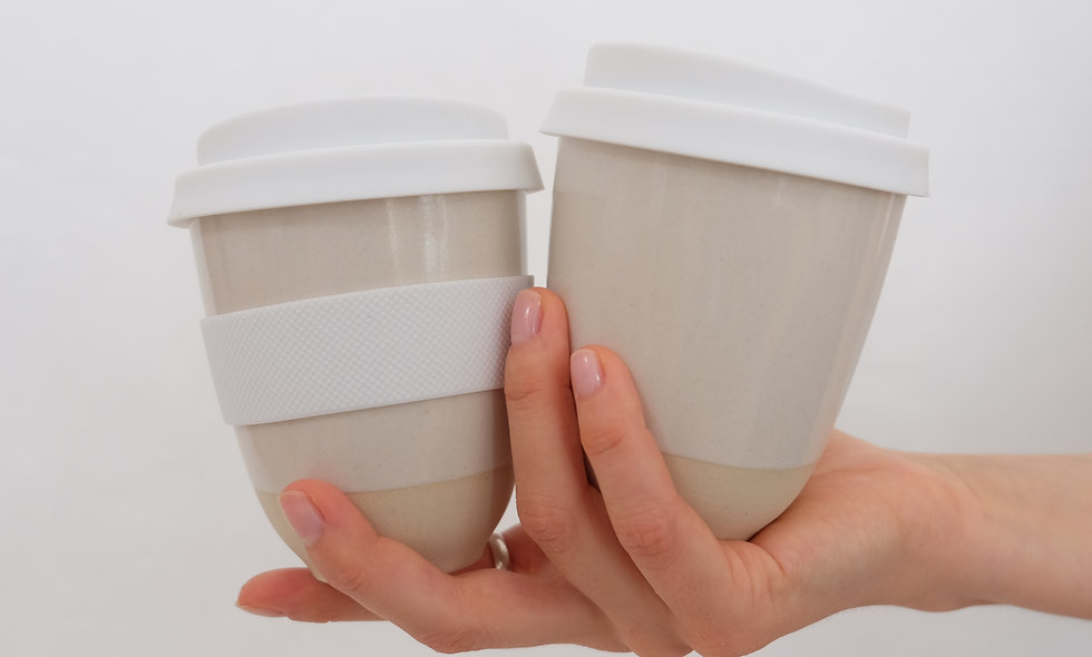 Coffee to Go Becher – Yang klein