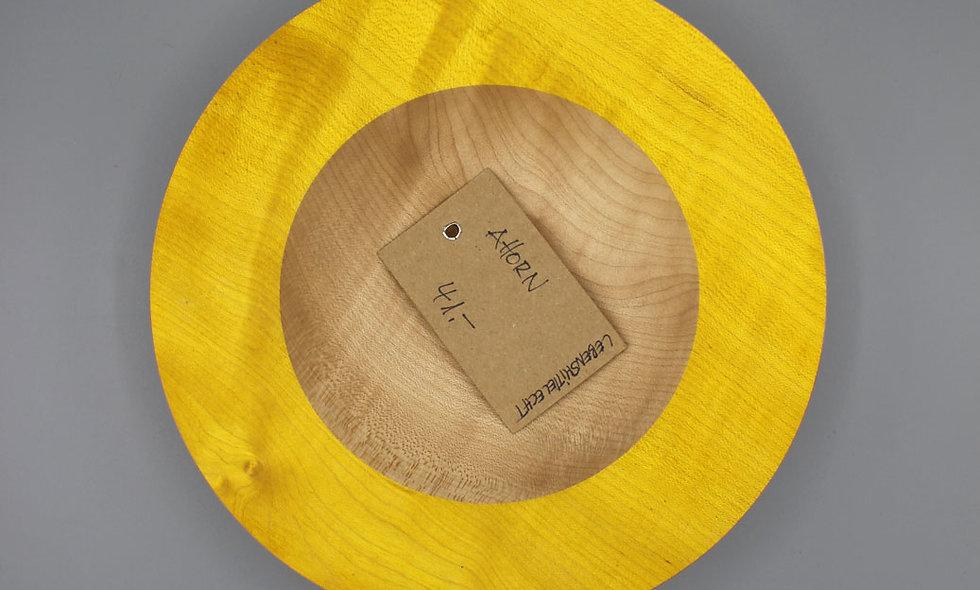 Ahorn Schale – gelb