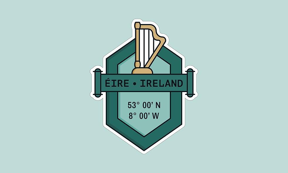 Sticker – Irland