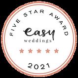 Easy Weddings 5 Star 2021.png
