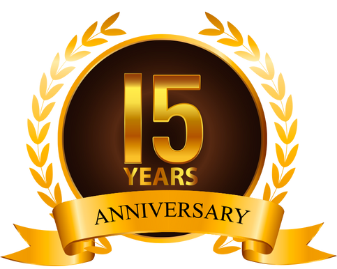15 Years and Still Going Strong!  Join us for Two Anniversary Shows in August!